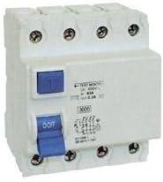 FI disjoncteur diff/érentiel 4 p/ôles 40 a 30 mA mKV disjoncteur de protection 4 p/ôles