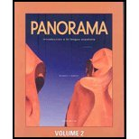 Panorama 3/E Student Edition W/Supersite Passcode Volume 2 (Lessons 8-15)
