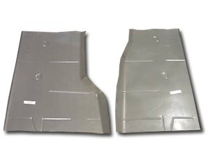 1962-87 Jeep J10, J20, J40, and Gladiator Pick-Up, 1962-83 Wagoneer, 1974-83 Cherokee, 1984-91 Grand Cherokee and Grand Wagoneer Complete Rear Floor Pan (Passenger Side)