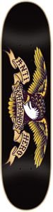Anti-Hero Classic Eagle Large Skateboard Deck 8.12 - Black/Yellow Deluxe