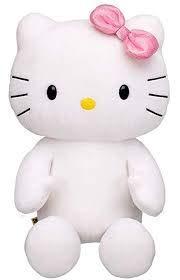 Build a Bear Hello Kitty Large White 18 in. Stuffed Plush HK Sanrio Toy Animal (Hello Kitty Build A Bear)