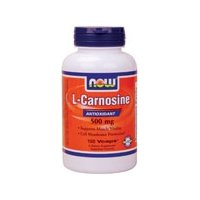 Now Foods L-Carnosine 500 mg - 100 Vcaps 4 Pack
