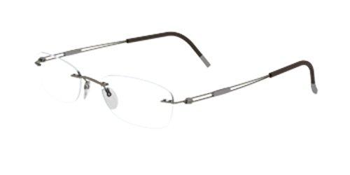 Silhouette Eyeglasses Titan TNG 4302 6052 Brown Optical F...