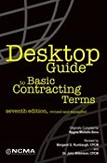 desktop guide to basic contracting terms by ncma national rh amazon com desktop guide to basic contracting terms (seventh edition) desktop guide to key contract terms & conditions
