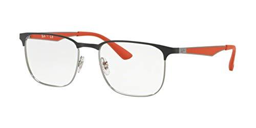 Ray-Ban Unisex RX6363 Eyeglasses Gunmetal Top Matte Grey 54mm (Ray Ban Eyewear)
