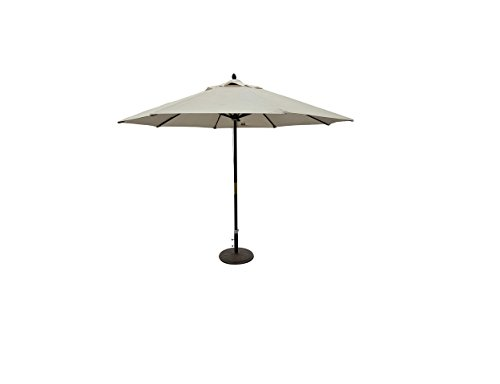 Finial Outdoor Pineapple (This 11-foot Outdoor Patio Market Umbrella Will Keep You Cool and Protected From the Sun. It Has a Solid Wooden Pole for Long-lasting Performance, Thread Coupling, and Includes a Premium Olefin Cover and Weather Resistant.)