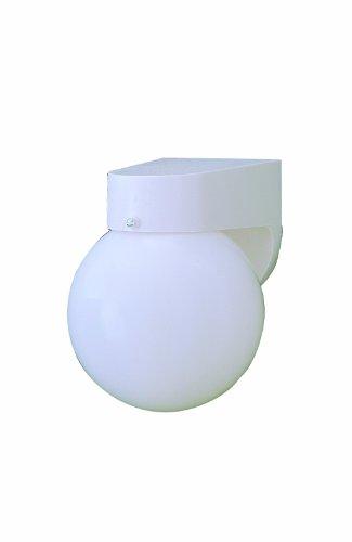Thomas Lighting SL94358 Outdoor Essentials Outdoor Wall Lantern, Matte White