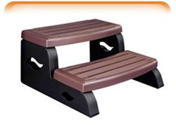 Concept 2 Spa Steps - Durastep Ii Two-Step Resin Spa Steps