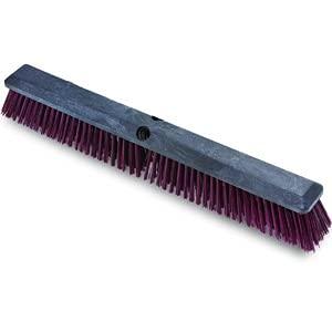 "Kimball 24"" Green Works Floor Broom (Block Only)"