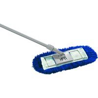 AUK HE060-B Dust Beater Mop Set, 60 cm Head, Blue Contico