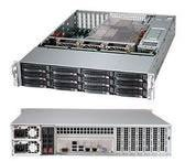Supermicro 2U Rackmount Server Chassis - Black CSE-826BE16-R920LPB