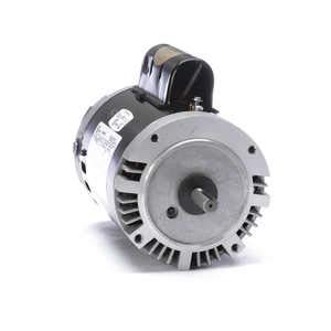 Pool Pump Motor, 1 HP, 3450 RPM, - Motor Pump Pool Shaft Keyed