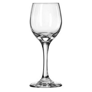 (Libbey 3058 Perception 6.5 Ounce White Wine Glass - 24 / CS)