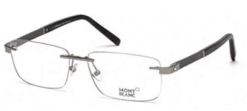 Eyeglasses Mont Blanc MB 0712 012 Grey/Clear Lense ()