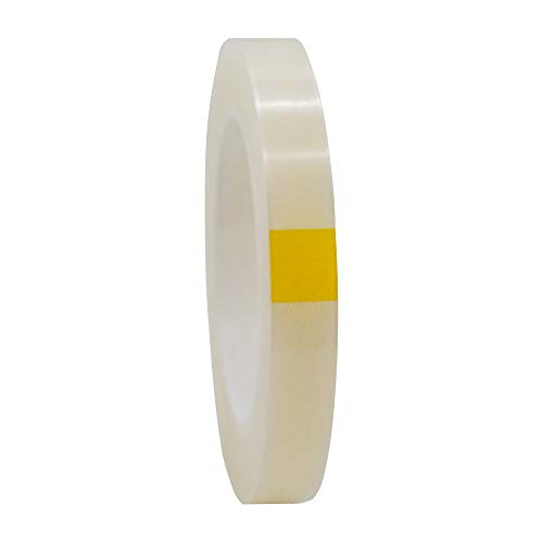 Jindcat RD0650 Removable Protective Film Tape for Watchband and Buckle Stainless Steel Butterfly Deployment Clasp Scratch Protection,18mmx100yd,Clear -
