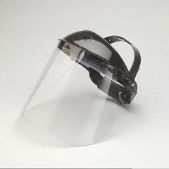 Jackson Safety Model K Clear General Purpose Face Shield & Headgear Set - Ratchet Adjustment - 14382 [PRICE is per EACH]