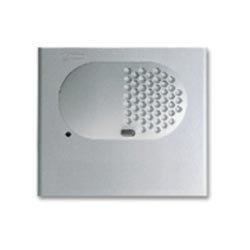 Golmar 2000/al - Módulo rejilla audio sin pulsador aluminio