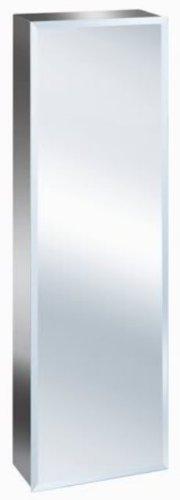 900mm Tall Stainless Steel Mirror Bathroom Cabinet ZANEX