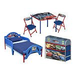 Disney Pixar Cars 3-Piece Room in a Box toddler bed, table and chairs and storage bin