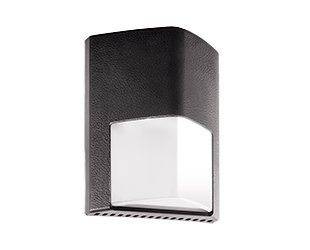 RAB Lighting ENTRA12N/PC Entra 12W Neutral LED 120V PC Wallmount Light, Bronze by RAB Lighting