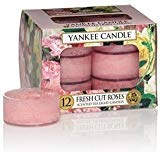 Yankee Candle Fresh Cut Roses Scented Tea Lights (Box Of 12)