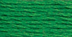 DMC Six Strand Embroidery Cotton 100 Gram Cone: Christmas Green Bright