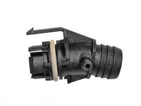 BMW e36 325 Air Hose Connector Manifold to Idle control GENUINE factory part (Bmw Vacuum Hose)