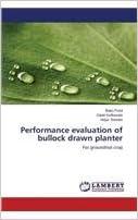 Book Performance evaluation of bullock drawn planter