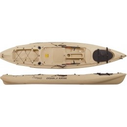 07.6400.7051 Ocean Kayak Prowler Big Game Angler Sand Sit-On-Top Fishing Kayak