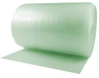 Priory Direct Plástico de Burbujas en Verde - Plástico ...