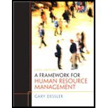 A Framework for Human Resource Management [6th Edition] by Dessler, Gary [Prentice Hall,2010] [Paperback] 6TH EDITION