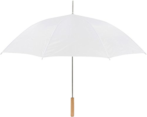 Anderson Umbrella UM-35-WHITE-10 Wedding Umbrella, White, 35 Inch (Pack of 10)