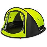 Zenph Automatic 2-3 Persons Family Camping Tent, 3 Seconds Automatic Opening Waterproof Sun Shelter, Automatic Instant Pop Up Tents for Outdoor Hiking 4 Season Tent