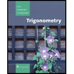 Trigonometry, a la Carte Plus MyMathLab, Lial and Lial, Margaret L., 0321627784