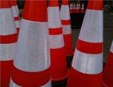 Traffic Cones 28'' - Reflective Collars - 8 Pack in Orange