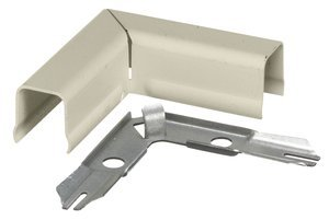 Ivory HBL750 Series Raceway 90° Flat Elbow Fitting, (Package of 10)