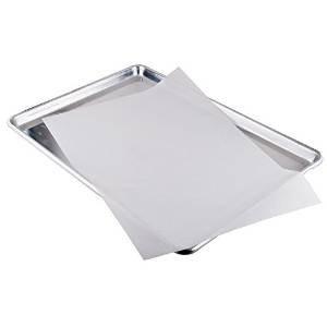 Chefland quilon parchment paper pan liner baking sheets for Papier parchemin cuisine