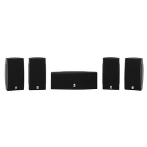Yamaha NS-AP1405 Ultra Compact 5.0 Surround Theater Speaker Package 1/2 Inch Dual Cone Speakers