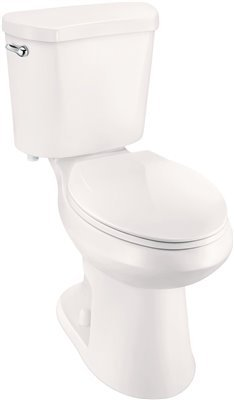 - Premier Select High Efficiency All-in-One Elongated Comfort Height Toilet with Plastic Seat, 1.28 Gpf