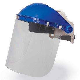 Allegro 06BG Browguard Headgear With Clear Visor, (Pack of 5) (06BG) by Allegro Industries
