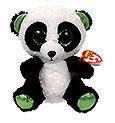 Ty Beanie Boos Yumi - Panda Bear (Justice Exclusive) - Exclusive Ty Beanie
