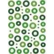 - Fiskars Rain Dots Peel and Stick Epoxy Eyelets, Greens