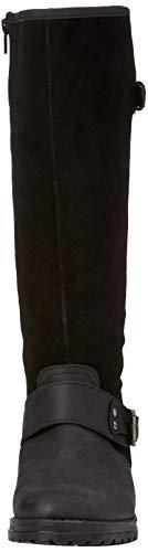 Altas Para Rider B Boots Leather black Browns Joe Negro Premium Mujer Botas w1Bn6qTY0W