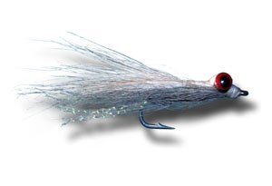 - Clouser Deep Minnow - Foxee Dace Fly Fishing Fly - Size 1/0 - 3 Pack