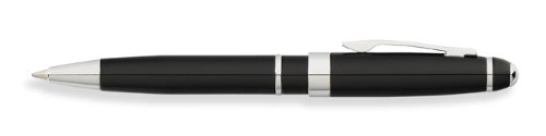 Franklin Covey, Bristol Mini Ballpoint Pen, Black Lacquer with Chrome, by Cross ((FC0052IM-1)