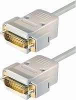 Joystick- und Midi-Kabel Sub D-Stecker 15pol auf Sub D-Stecker 15pol 1,8 m