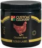 Custom Culinary Gold Label Chicken Base, 20 Pound -- 1 each. by Custom Culinary