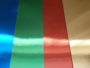 Kids Create Karton Spiegel Metallic A4 Farbig 300g/m2 - gemischte Farben (36 Stück) Anker International PVI/2