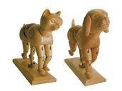 Art Alternatives Artist Manikin,Brown 6.5 Inch Dog ()
