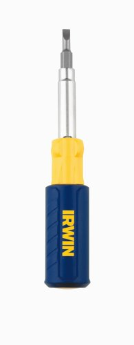 IRWIN Tools 9-in-1 Multi-Tool Screwdriver (2051100) (Multi Bit Driver)
